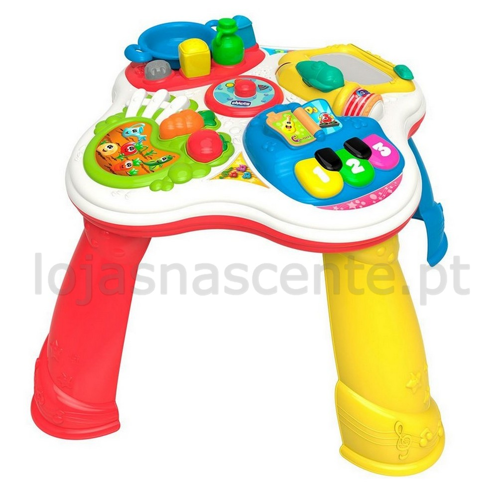 Brinquedos mesa de atividades bilingue 12m chicco for Tavolo degli hobby