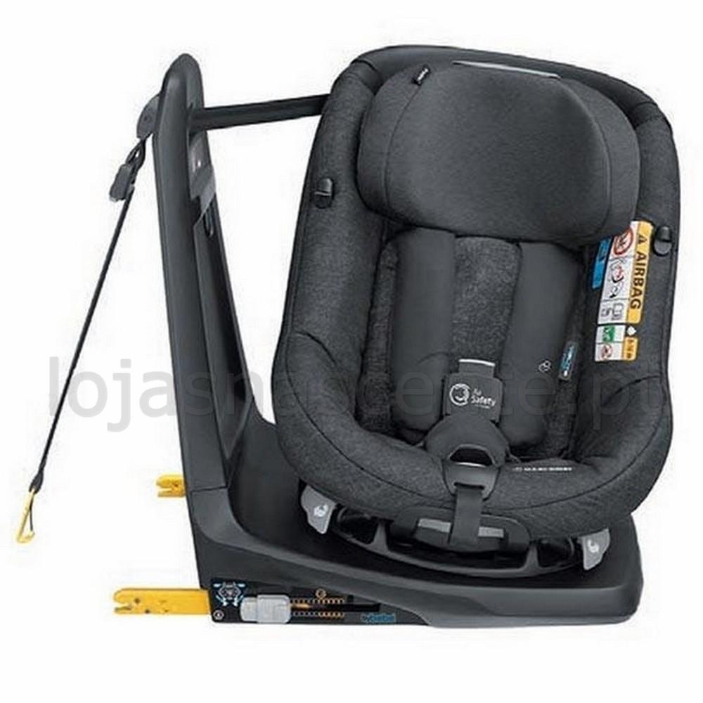 puericultura cadeira auto axissfix air isofix i size b b confort nomad black. Black Bedroom Furniture Sets. Home Design Ideas